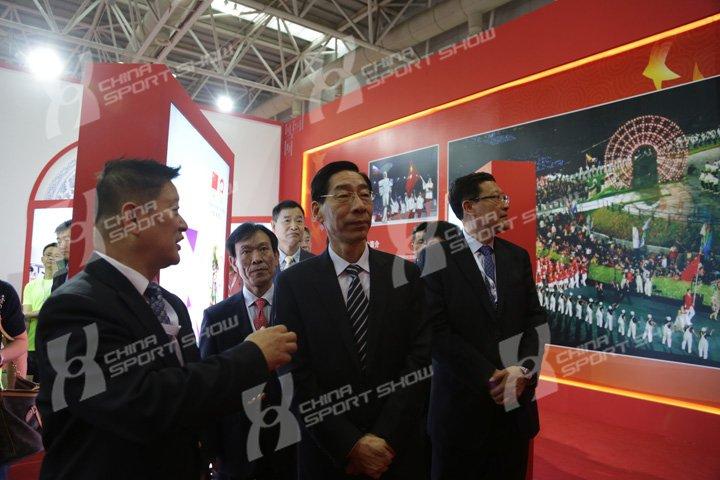 2015体博会 - 领导巡馆(二)