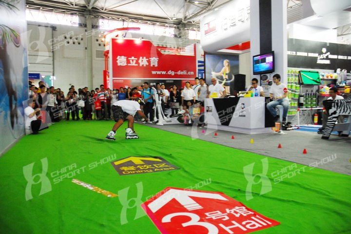 2011成都体博会 - 轮滑活动